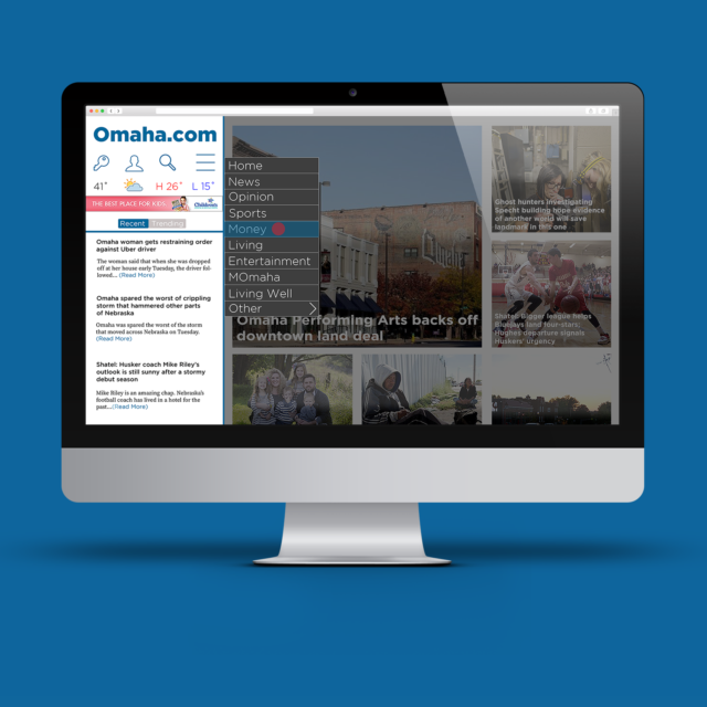 Omaha.com Website Re-Design